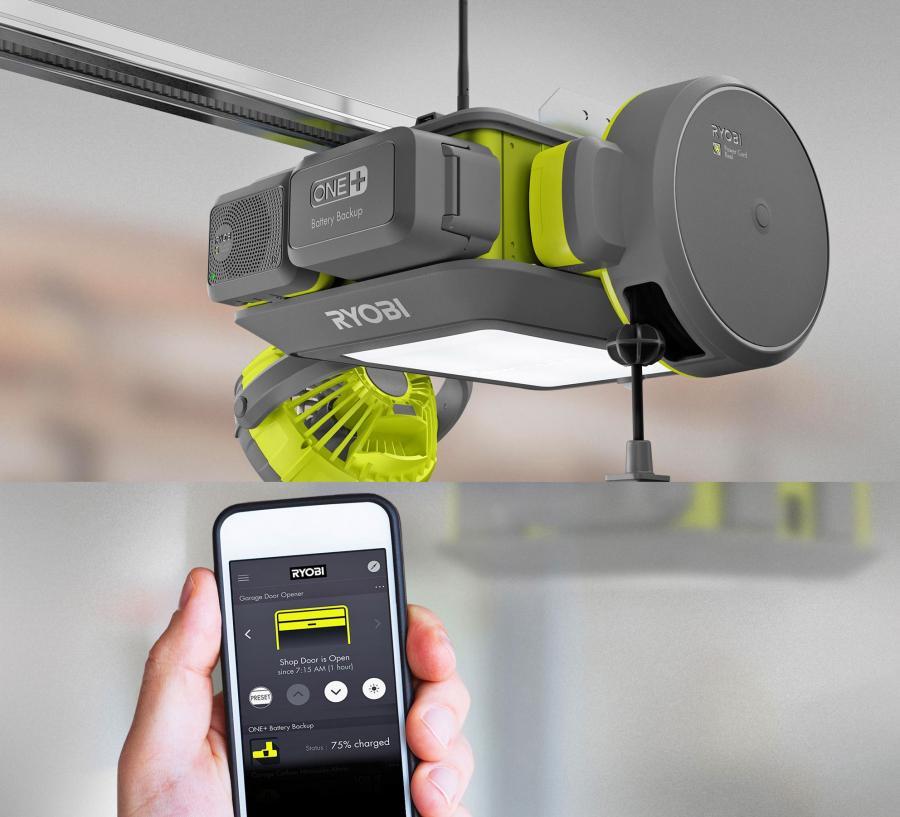 Ultimate Garage Door Opener, Ultra-Quiet, Modular, and Smart Phone Capable