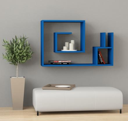 Salyangoz: A Modern Maze-Like Wall Shelf