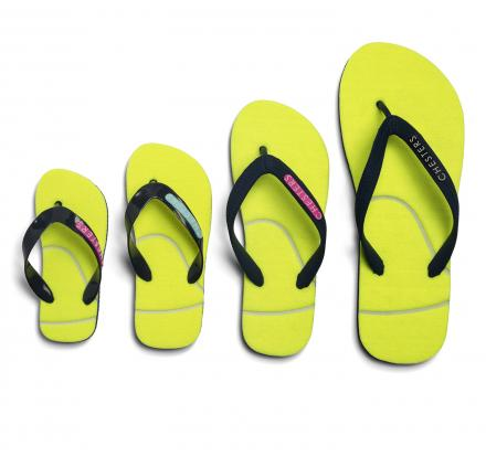 Sandals Made From Tennis Balls