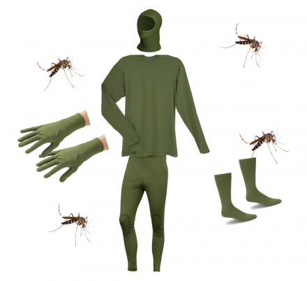 There's Now a Mosquito Blocking Outfit That Prevents Bugs From Biting Through Your Clothes