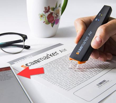 ScanMarker: Instantly Scan Text To Your Computer or Smart Phone