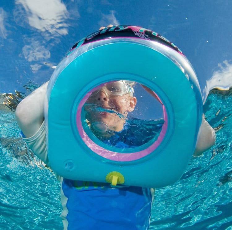 Sea Window A Floating Snorkeling Window