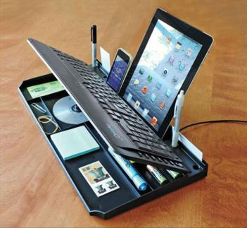 Secret Compartment Keyboard Organizer
