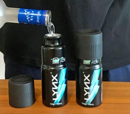 Secret Deodorant Body Spray Can Hidden Flask