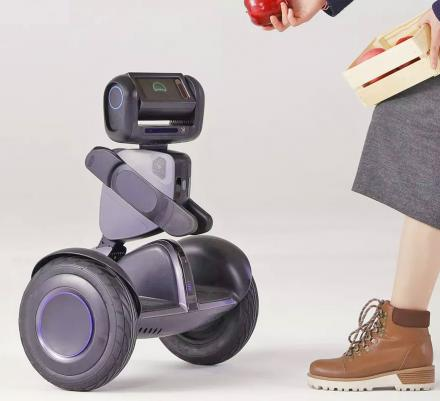 Segway Loomo: A Personal Robot That You Can Ride Like a Hoverboard