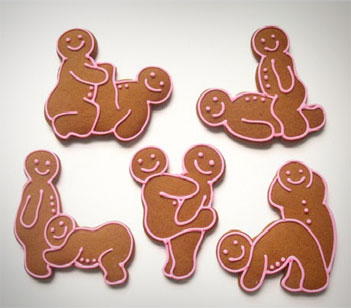 Sex Position Cookie Cutters