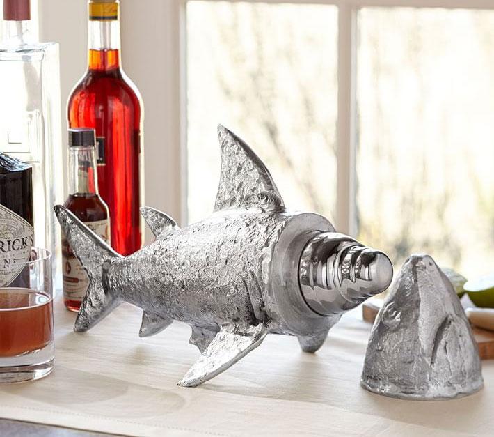 Shark Shaped Cocktail Shaker