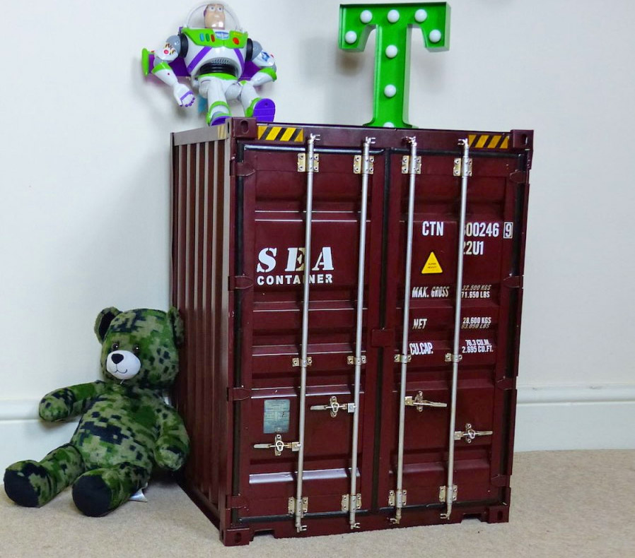 Shipping Container Storage Cabinet