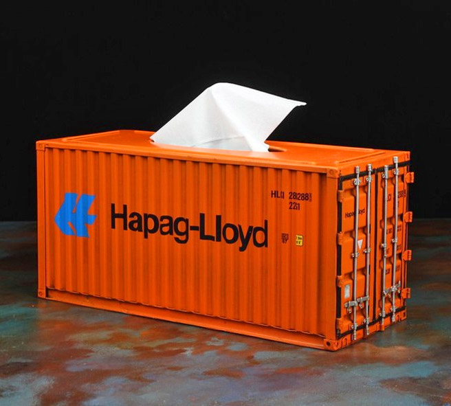 what are containers made of