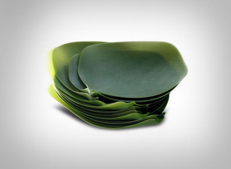 Silicone Plant Leaf Plates