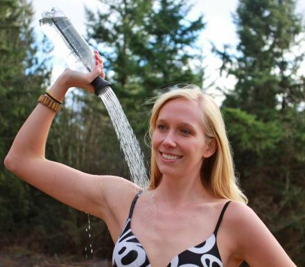 Simple Shower: Turn Any 2-Liter Bottle Into a Portable Camping Shower