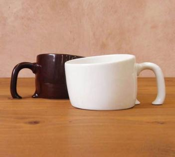 Sinking Into Table Coffee Mug