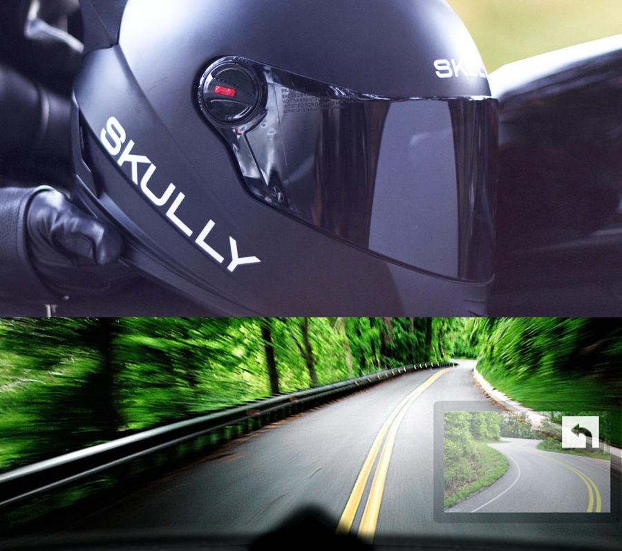 SKULLY Is A Smart Helmet With a Heads Up Display