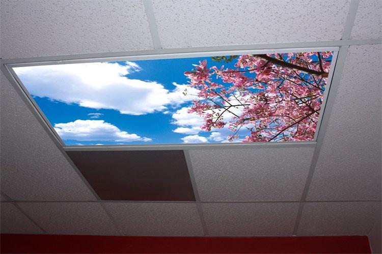 Lovely Sky Panel Light Fixture Cover