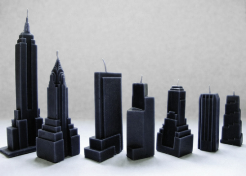 Skyscraper Candles