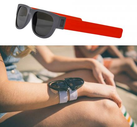 Slapsee Sunglasses Slap Onto Your Wrist Like The 90s Slap Bracelets