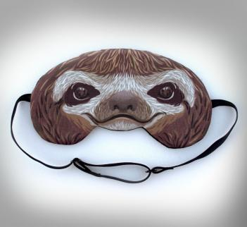 Animal masks to cake ideas and designs for Sloth mask template