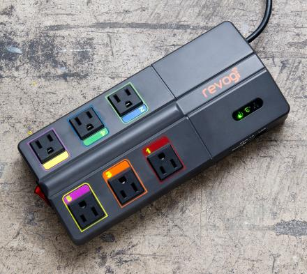 Smart Power Strip Lets You Control Your Electronics Through Your Smart Phone