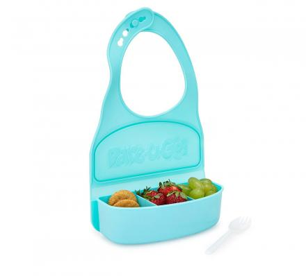 Snack and Go Travel Bib - Snack Holding Bib