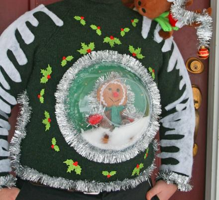 This Snow Globe Sweater Is The Ultimate Ugly Christmas Sweater