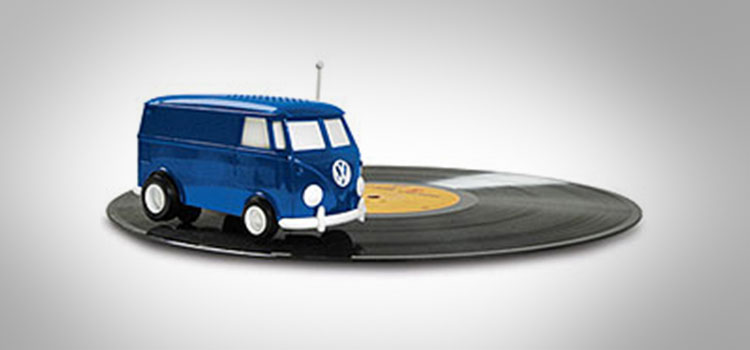 Soundwagon Portable Record Playing Hippy Van
