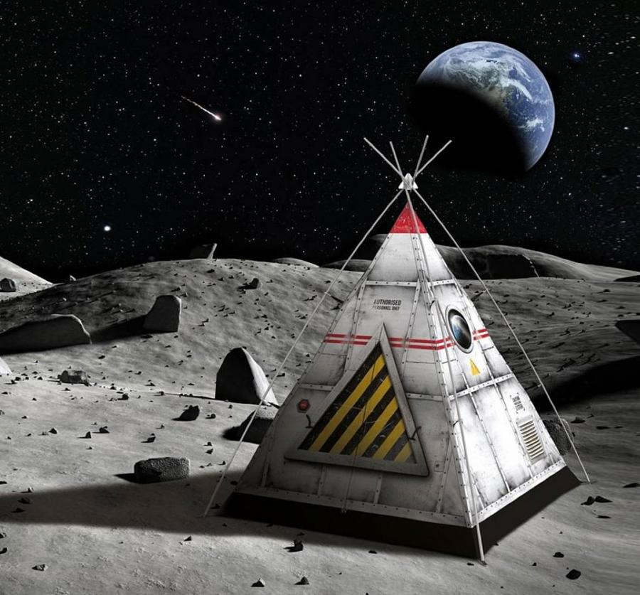 Space And Scifi Things With Zmodeler: Spaceship Camping Tent For Kids