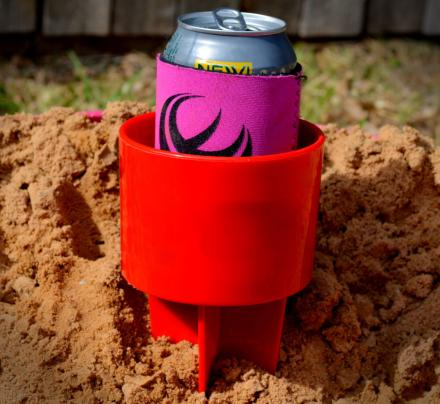Spiked Beach Drink Holder