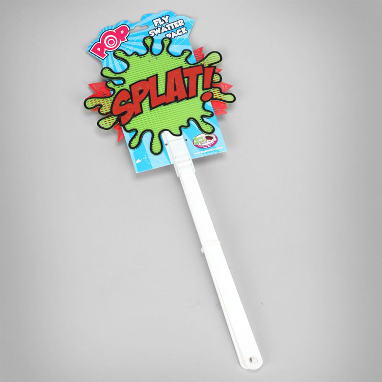 Splat and Pow Batman Style Fly Swatters