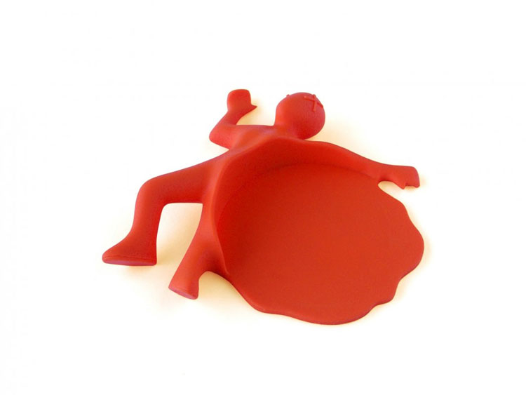 Splattered Man Drink Coaster