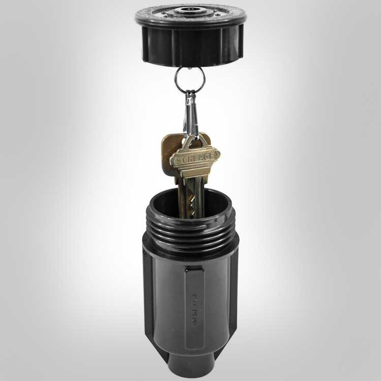 Sprinkler Head Secret Key Holder
