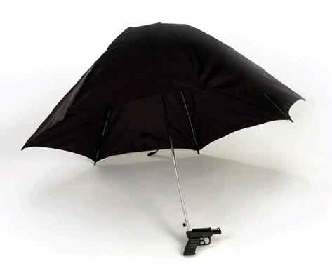 Squirt Gun Umbrella