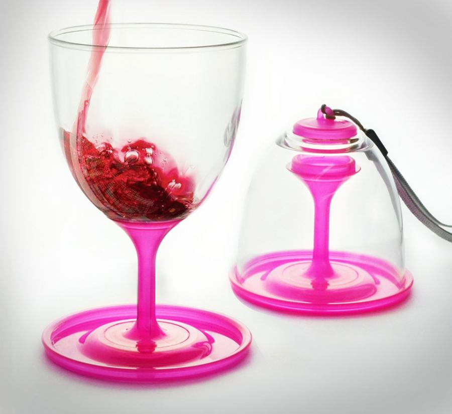 Stack n go wine glasses Wine glasses to go