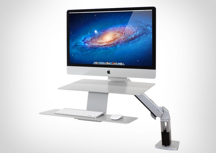 Ergotron Stand Or Sit iMac Workstation