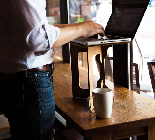 StandStand: A Portable Standing Desk