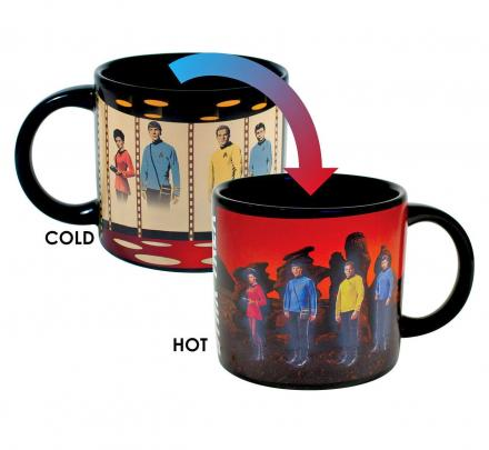 Star Trek Transporting Heat Change Coffee Mug