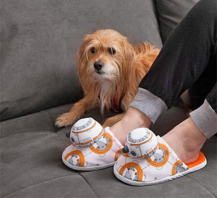 Star Wars BB-8 Droid Slippers