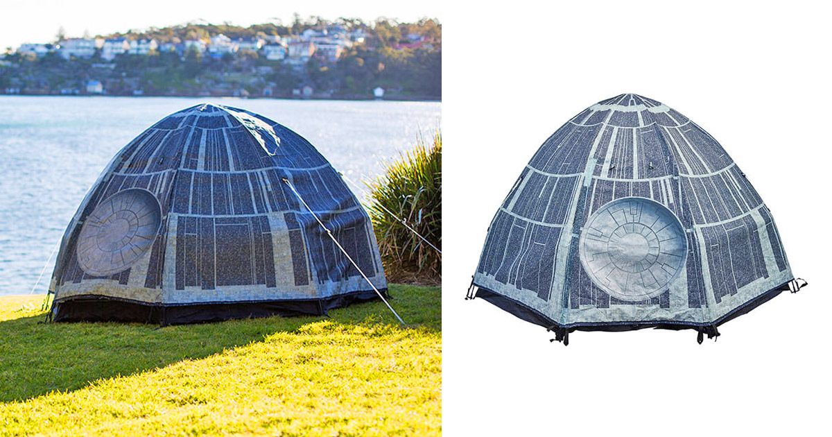 This Death Star Camping Tent Belongs In Every Star Wars Geeks Camping Gear