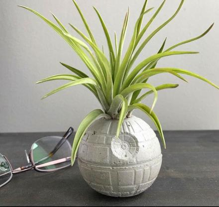 Star Wars Death Star Concrete Planter