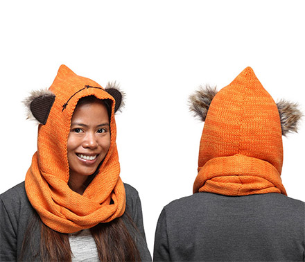 Star Wars Ewok Hooded Scarf