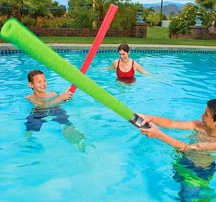 There Are Now Lightsaber Pool Noodles That'll Let You Have Epic Battles In The Pool
