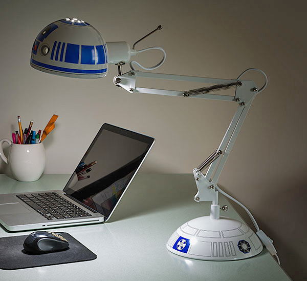Charming This Architectural Style Desk Lamp Is Made To Look Just Like R2 D2 From Star  Wars, Except, You Know, In Lamp Form. Officially Licensed From Star Wars  And ...