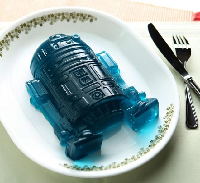 Giant R2 D2 Ice Cake Jello Mold
