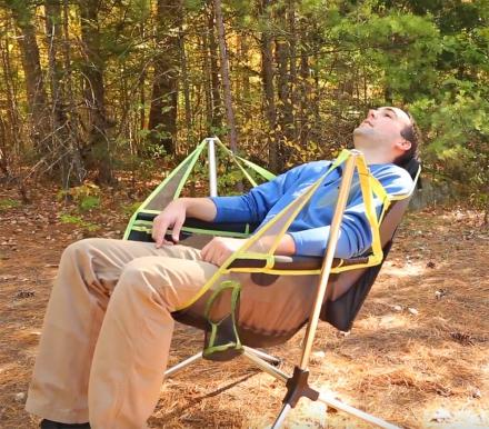 Stargaze Recliner: A Camping Chair That Swings and Reclines