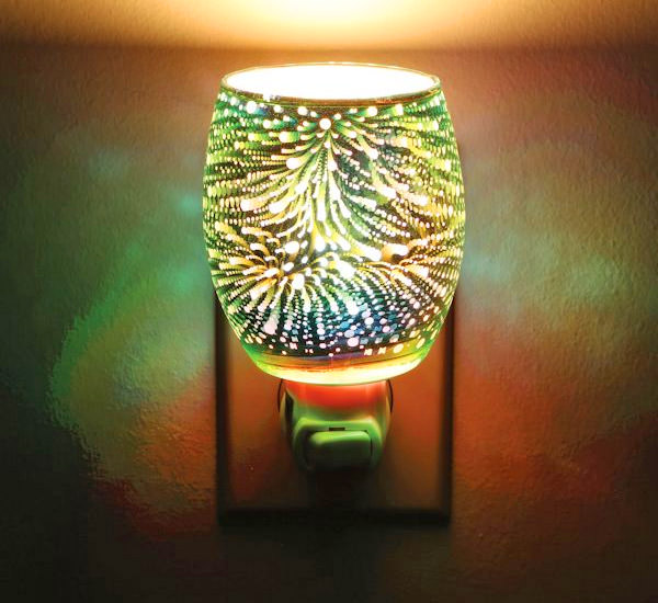 Stargazer Infinity Glass Space Effect Night-Light