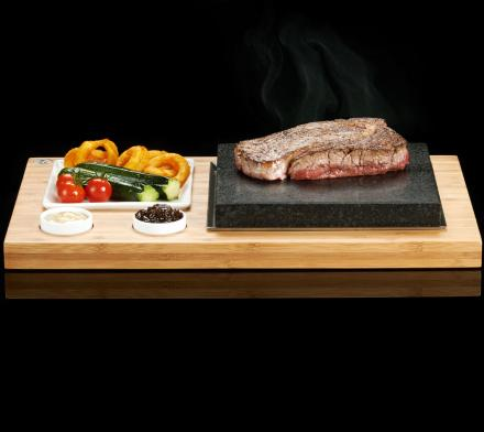 SteakStones: Prepare Meat Right In Front Of You