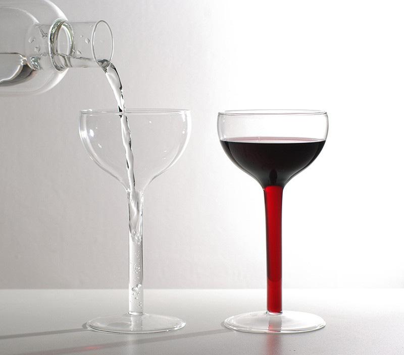 Stem Fillable Wine Gles