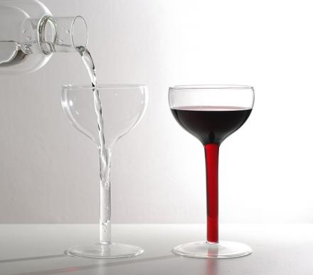 Stem Fillable Wine Glasses