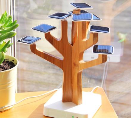 SunTree: Solar Powered Tree Charger