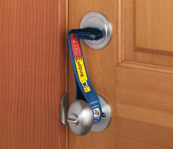 Super Grip Lock Deadbolt Strap