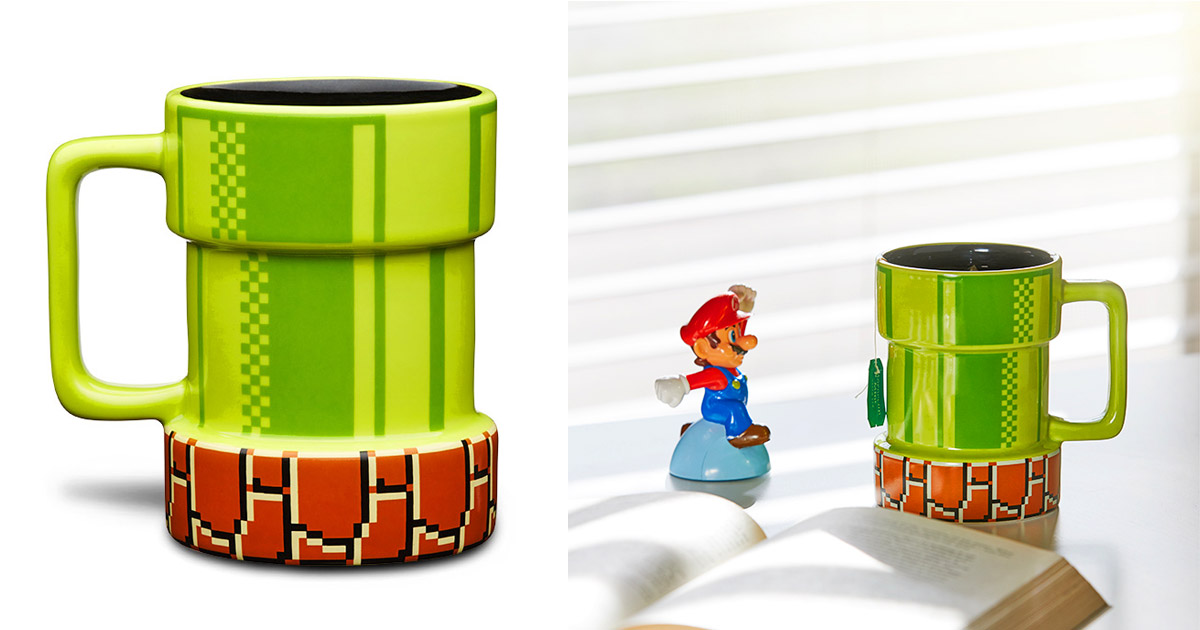 Super Mario Warp Pipe Coffee Mug
